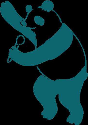 司会のパンダ